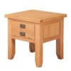 Lincoln Natural 1 Deep Drawer Lamp Table