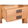 Lincoln Natural 1 Deep Drawer Lamp Table