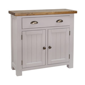 Norfolk Grey 2 Door 1 Drawer Sideboard