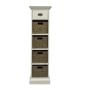 Walton 1 Drawer 4 Basket Unit