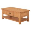 Lincoln Natural Coffee Table With Shelf