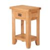 Lincoln Natural 1 Drawer Console Table