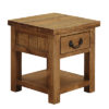 1 Drawer Lamp End Table-stand-storage-cabinet-pine-wood-Living-furniture-steptoes-paphos-cyprus (2)