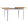 Bergen Beige 1.2M Butterfly Extending Dining Table