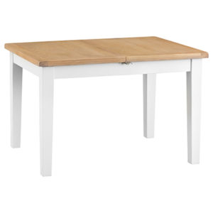 Suffolk White 1.2M Butterfly Extending Table