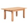 Lincoln Natural Extending Dining Table 1.4-1.8M