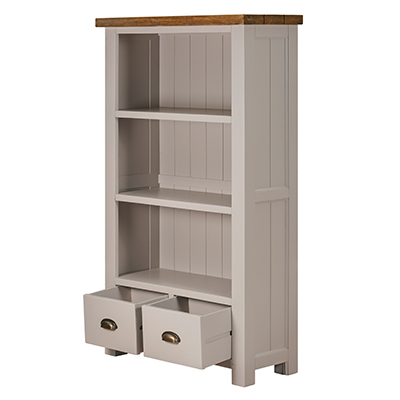 Norfolk Grey Medium Bookcase