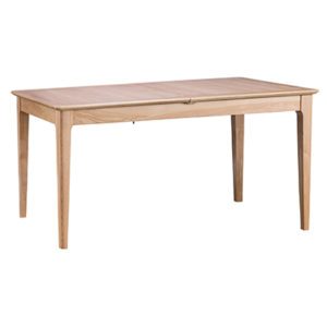 Bergen Oak 1.6M Butterfly Extending Dining Table