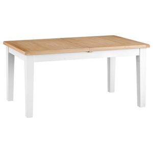 Suffolk White 1.6M Butterfly Extending Table
