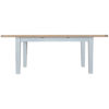 1.6m butterfly Table-Extending-grey-painted-lime washed oak top-wood-wooden-Dining-furniture-Steptoes-Paphos-Cyprus