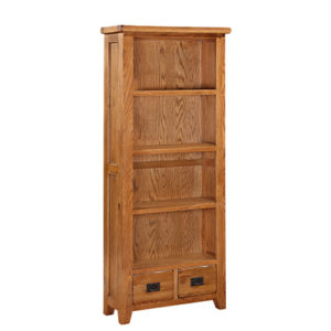 Lincoln Rustic 1.8M Bookcase