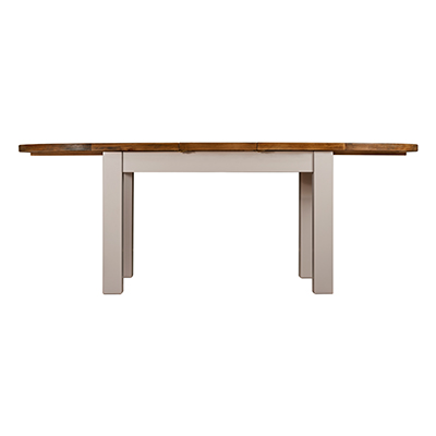Norfolk Grey Oval Extending Dining Table