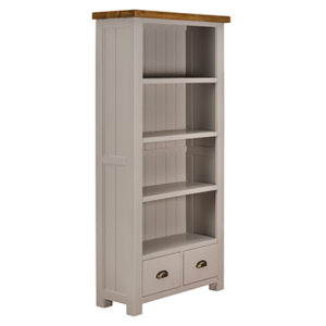 Norfolk Grey Large Bookcase