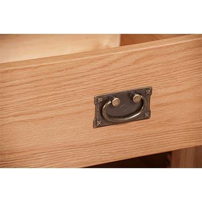 Lincoln Natural 2 Drawer 2 Door Sideboard
