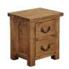2 Drawer Bedside cabinet-storage-pine-wood-bedroom-furniture-steptoes-paphos-cyprus (2)