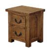 2 Drawer Bedside cabinet-storage-pine-wood-bedroom-furniture-steptoes-paphos-cyprus (3)