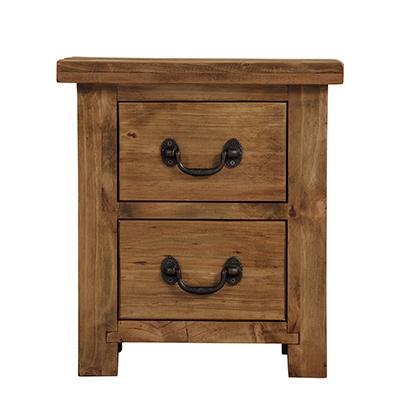 Cotswold 2 Drawer Bedside Cabinet