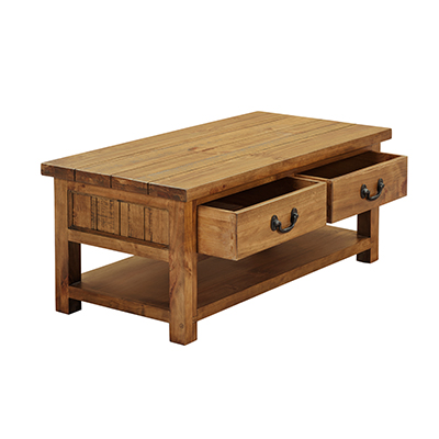 Cotswold 2 Drawer Coffee Table