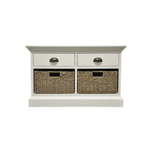Walton 2 Drawer 2 Basket Unit