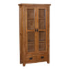 Lincoln Rustic Display Cabinet