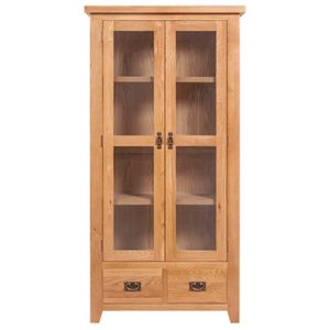 Lincoln Natural Display Cabinet