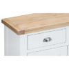 Suffolk White 2 Drawer 2 Door Sideboard