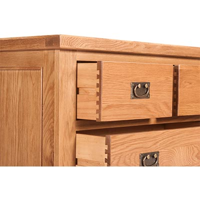 Lincoln Natural 2 over 3 Chest