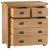 2 over 3 chest-drawers-storage-bronze handles-oak-Bedroom-wooden-wood-furniture-Steptoes-paphos-cyprus (2)