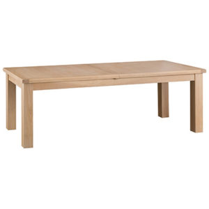 Windsor Limed 2.4m Butterfly Extending Dining Table