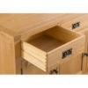 3 Door Sideboard-drawer-cupboard-storage-bronze handles-oak-Dining-wooden-wood-furniture-Steptoes-paphos-cyprus (3)