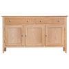 3 Door Sideboard-storage-drawers-chest-shelves-natural-oak-Dining-wood-wooden-furniture-Steptoes-Paphos-Cyprus (3)