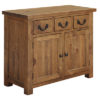 3 Drawer 2 Door Sideboard – Cotswold – Pine – Rustic Pine – Dining – Unit – Sideboard – Storage – Farmhouse – Interior – Steptoes – Paphos (2)