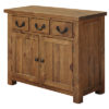3 Drawer 2 Door Sideboard – Cotswold – Pine – Rustic Pine – Dining – Unit – Sideboard – Storage – Farmhouse – Interior – Steptoes – Paphos (3)