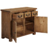 3 Drawer 2 Door Sideboard – Cotswold – Pine – Rustic Pine – Dining – Unit – Sideboard – Storage – Farmhouse – Interior – Steptoes – Paphos (4)