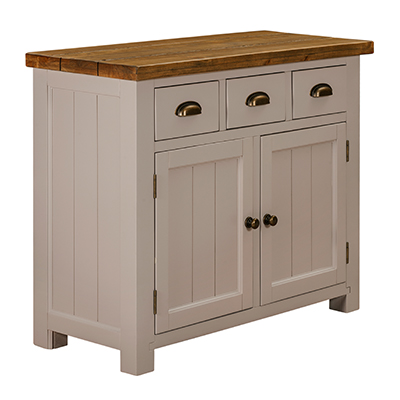 Norfolk Grey 2 Door 3 Drawer Sideboard