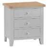 3 Drawer Chest-Cabinet-storage-grey-painted-lime washed top-wood-wooden-bedroom-furniture-Steptoes-Paphos-Cyprus