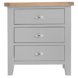Suffolk Grey 3 Drawer Chest