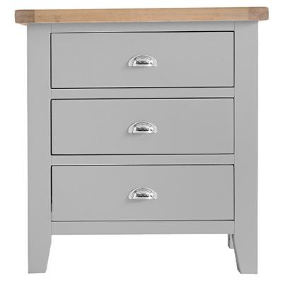 Suffolk Grey 3 Drawer Chest