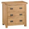 3 Drawer Chest-storage- bronze handles-oak-Bedroom-wooden-wood-furniture-Steptoes-paphos-cyprus (2)