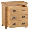 3 Drawer Chest-storage- bronze handles-oak-Bedroom-wooden-wood-furniture-Steptoes-paphos-cyprus (4)