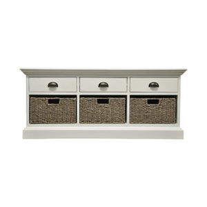 Walton 3 Drawer 3 Basket Unit
