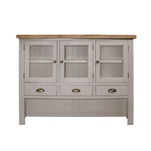 Norfolk Grey Large Hutch