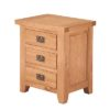 Lincoln Natural Bedside Cabinet