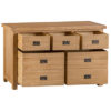 3 over 4 Chest-drawers-storage-bronze handles-oak-Bedroom-furniture-wooden-wood-Steptoes-paphos-cyprus (2)