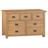 3 over 4 Chest-drawers-storage-bronze handles-oak-Bedroom-furniture-wooden-wood-Steptoes-paphos-cyprus (3)