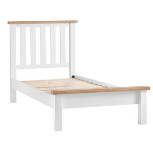 Suffolk White 3'0 Single Sized Bed
