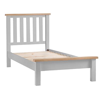 Suffolk Grey 3'0 Single Sized Bed