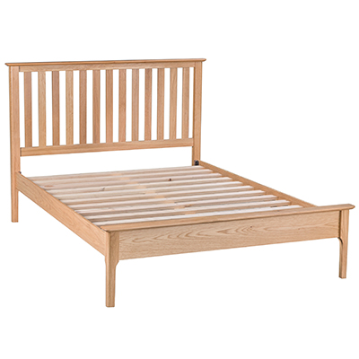 Bergen Oak 3'0 Single Size Bed