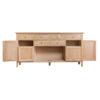4 Door Sideboard-storage-drawers-chest-shelves-natural-oak-Dining-wood-wooden-furniture-Steptoes-Paphos-Cyprus (4)