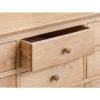 4 Door Sideboard-storage-drawers-chest-shelves-natural-oak-Dining-wood-wooden-furniture-Steptoes-Paphos-Cyprus (6)